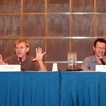 Dean Haglund and Chris Owens of X-Files