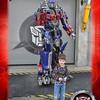Eli with Optimus Prime